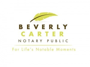 Beverly Carter Notary Public